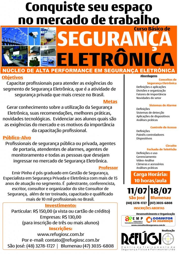 Curso Básico de Segurança Eletrônica